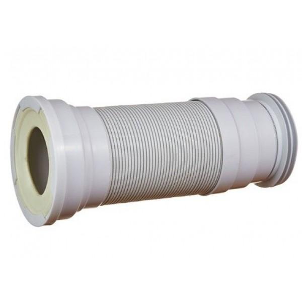 Гофра д/унитаза АНИ (К738R) 350-950 мм вып.110 с манжетой